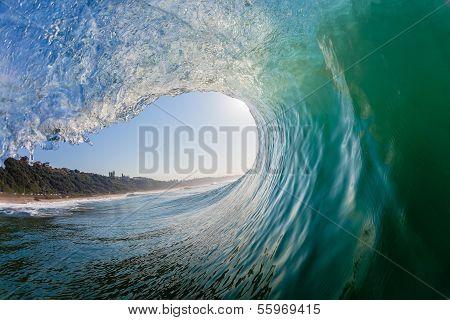 Wave Hollow Inside Crashing Waters