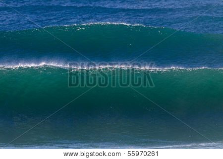 Ocean Wave Swells Waters
