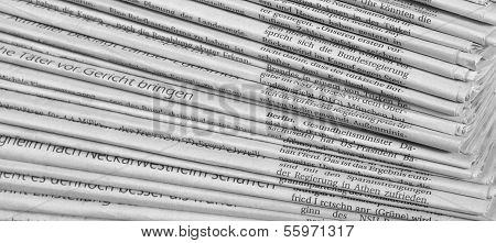 Lots Of Newspapers