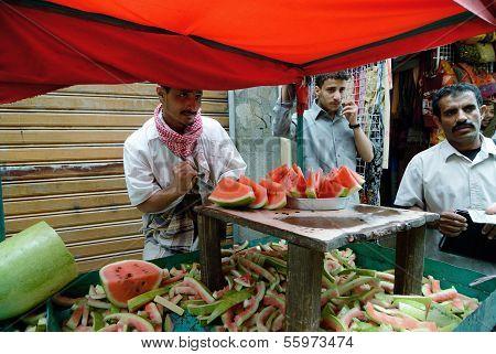 Watermelon Seller