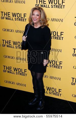 NEW YORK-DEC 17: Socialite Denise Rich attends the premiere of