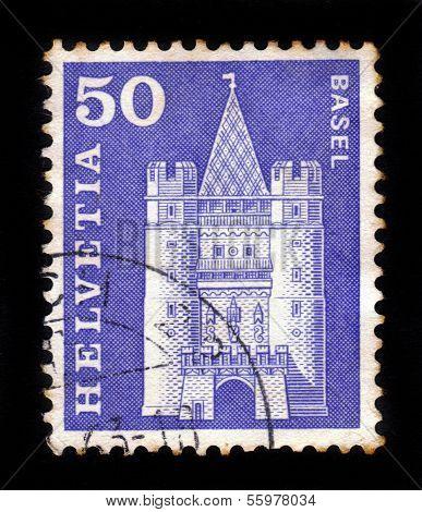 Gate Of Spalen In Basel