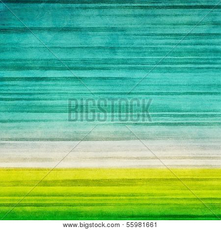 Grunge field and blue sky, nature background