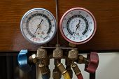 image of hvac  - Various Handyman HVAC repair air conditioning tools - JPG