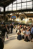 picture of gare  - PARIS  - JPG
