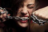 stock photo of revenge  - Close Up of Woman - JPG