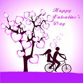 pic of tandem bicycle  - Doodle lovers - JPG