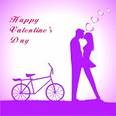 picture of tandem bicycle  - Doodle lovers - JPG