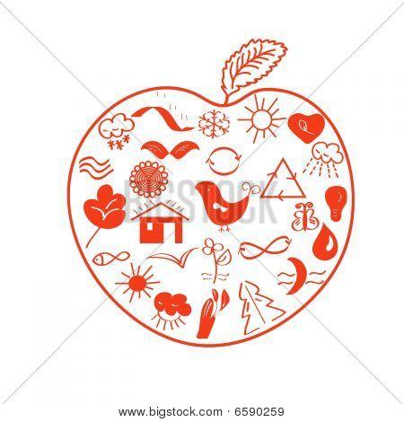 Environmental apple