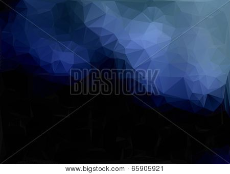 Dark Puple Abstract Polygon Triangle Background