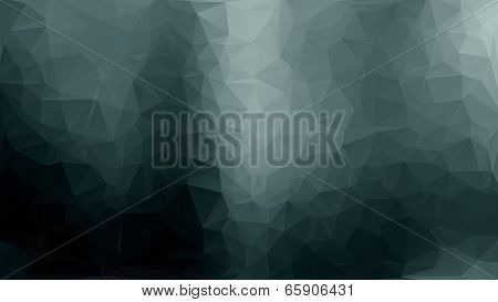 Gray Abstract Polygon Triangle Background