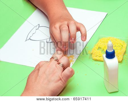 Hands That Make Applique
