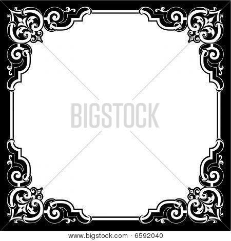 Scroll Border Ornament