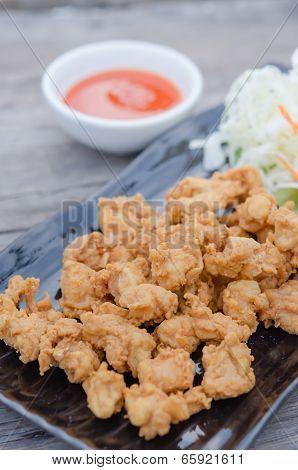 Deep Fried Chicken Tendons