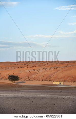 Building Desert Wahiba Oman
