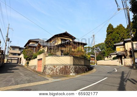 Japanese residentail house