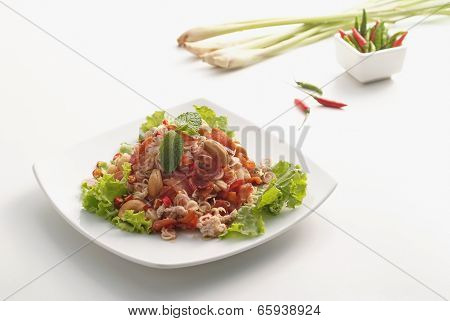 Spicy Lemon Grass Salad