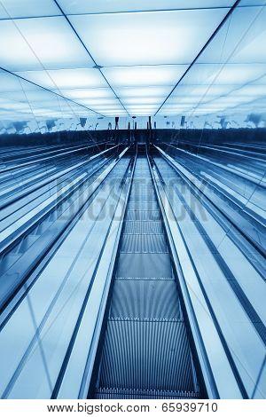 Downward Escalator