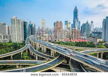 Shanghai Elevated Road  Junction