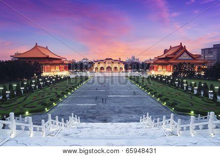 Chiang Kai-shek Memorial. Taipei - Taiwan.