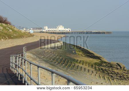 Portsmouth Seafront. Hampshire. UK