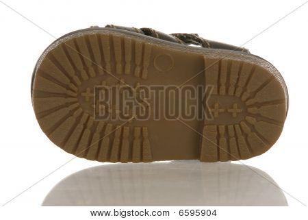 Sohle des Baby Schuhe