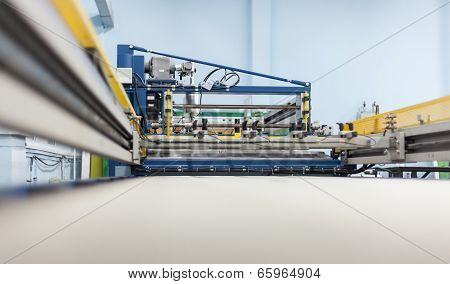 Lingering System Of The Printing Press