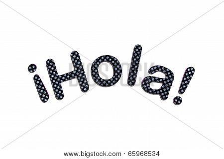 Hola Lettering