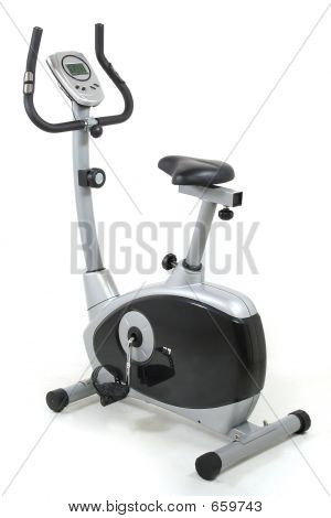 Stationary Bike. Gym Machine