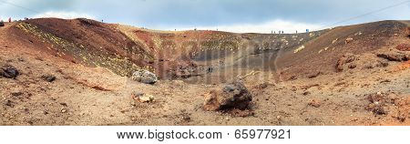 Silvestri Crater Of Etna