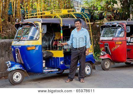 Tuk-tuk With Driver