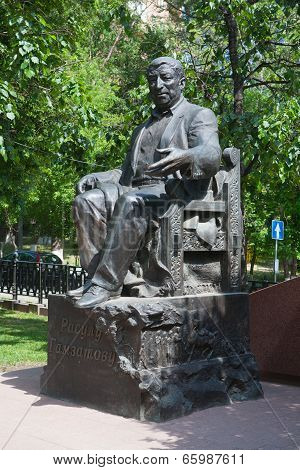 Rasul Gamzatov Poet Monument