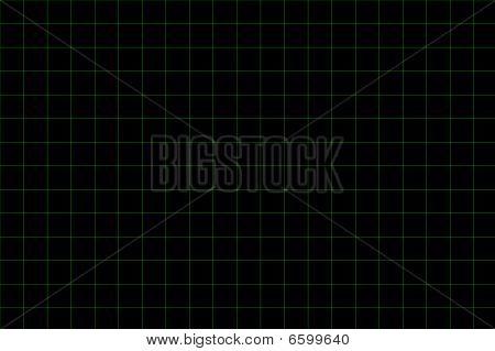 Green Grid Background