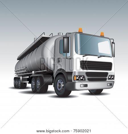 Gasoline Tank Truck