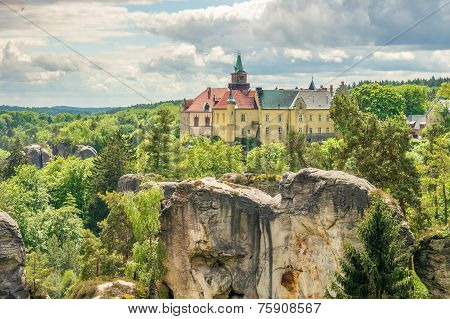 Castle Hruba Skala In Czech Paradise