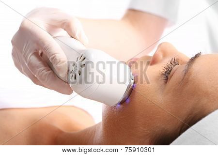 Loss of skin density  Ultrasound beauty treatment