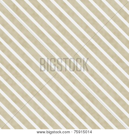 Beige And White Striped Pattern Repeat Background