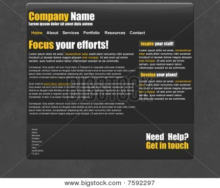 Tech Website or Blog Template