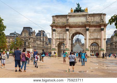The Triumphal Arch (de Triomphe Du Carrousel)