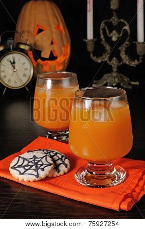 Pumpkin Juice With Ice
