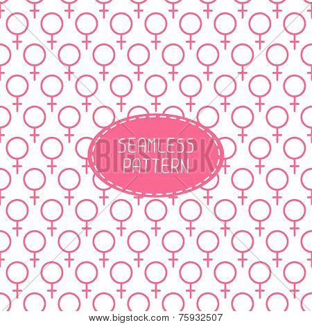 Sexual orientation web icons,symbol,sign in flat style. Gender background. Female combination. Vecto