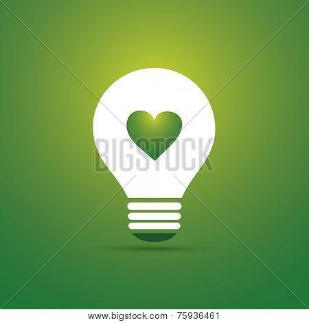 Green Eco Energy Concept Icon - Eco Friendly