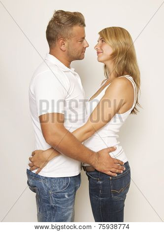 Couple Embracing Each