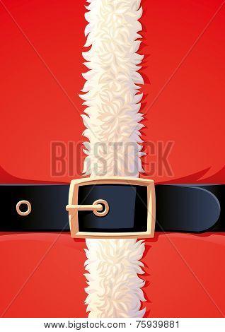 Background of Santa Claus coat