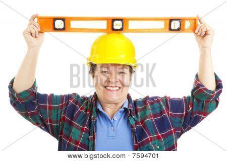 Female Worker - Level Headed