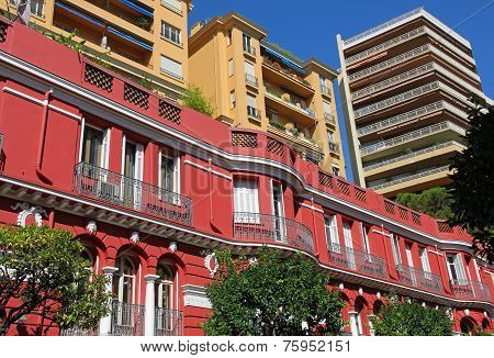 Monaco. Monte Carlo. Beautiful Architecture