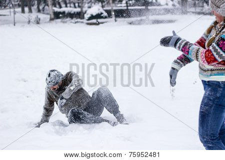 Snowball Fighting