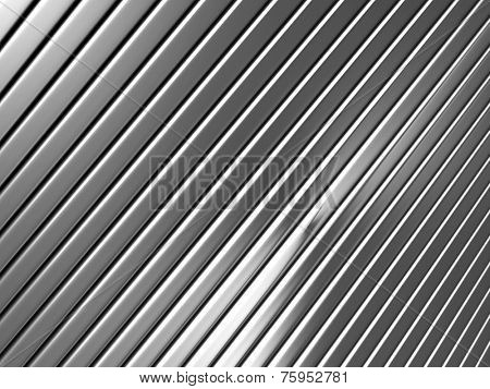 Silver metal background 3d illustration