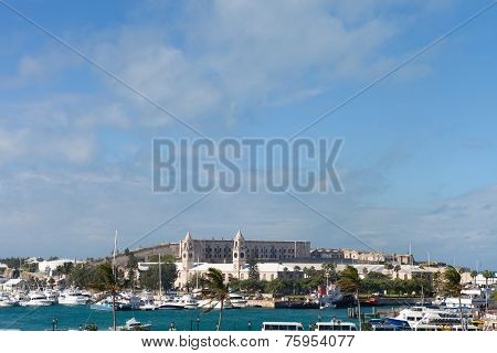 Bermuda Harbor Skyline