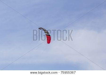 Stunt Kite On Blue Skies